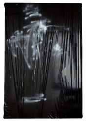 240 x 160 cm, Lack, Acryl, Lackspray, Folie auf Leinwand, 2015