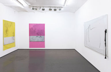installation view, FOLD gallery, London, 2016