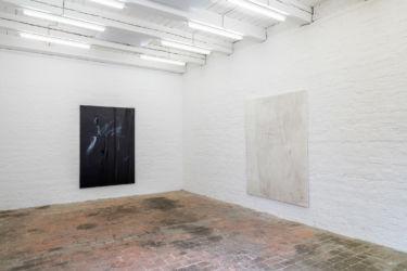 <em>deconnotation</em>, 200 x 135 cm, 200 x 150 cm, installation view frontviews, Berlin 2018